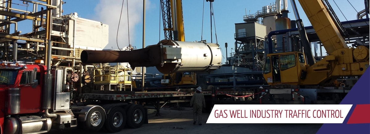 gas well industry traffic control