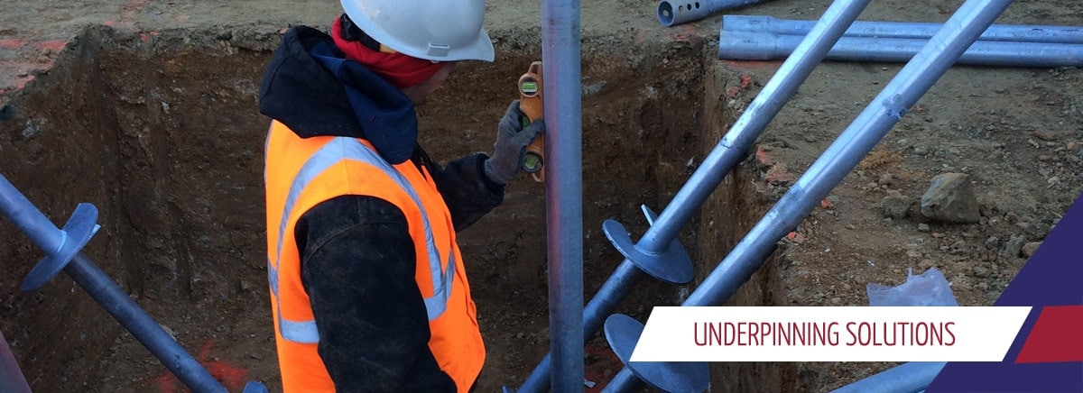 underpinning solutions for PA